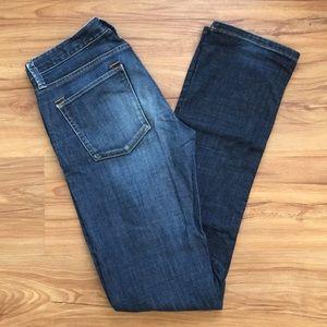 Banana Republic Straight Leg Dark Denim Jeans